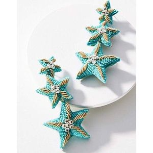 Anthropologie Suzanna Dai Caicos Starfish Earrings